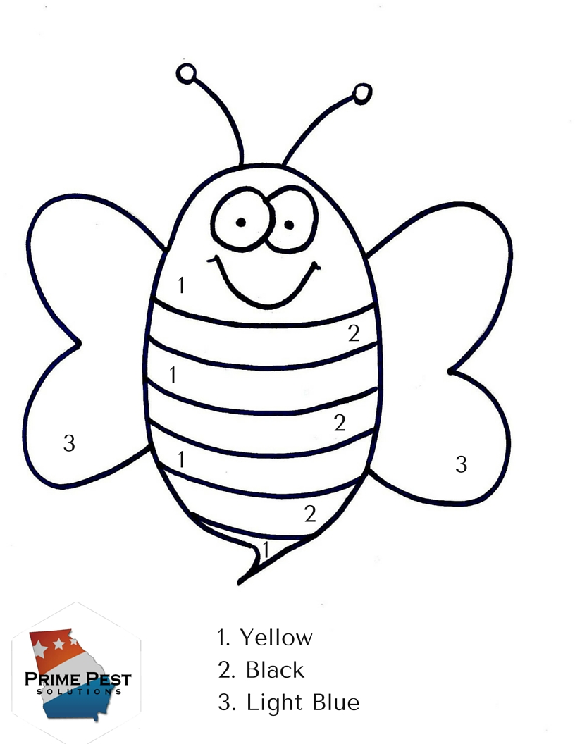 Bug Color by Numbers (2)
