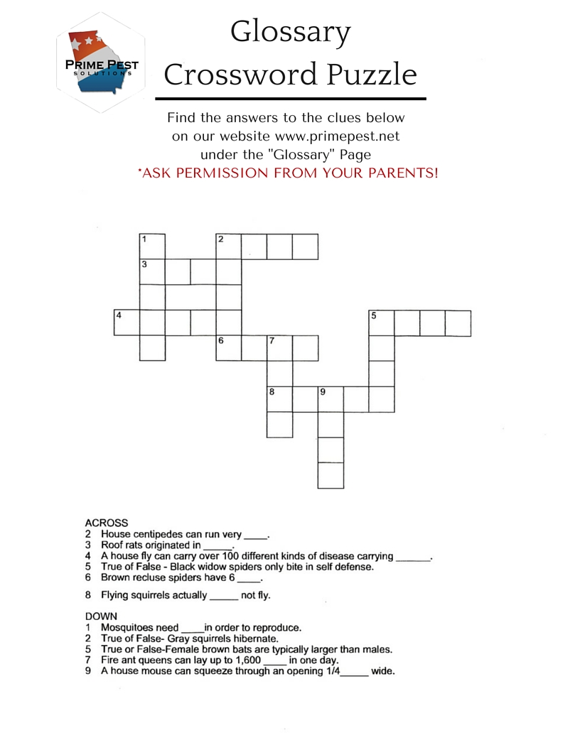 Crossword Puzzle (1)